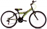 "bicykel Adria STINGER 24"" black green  2018"