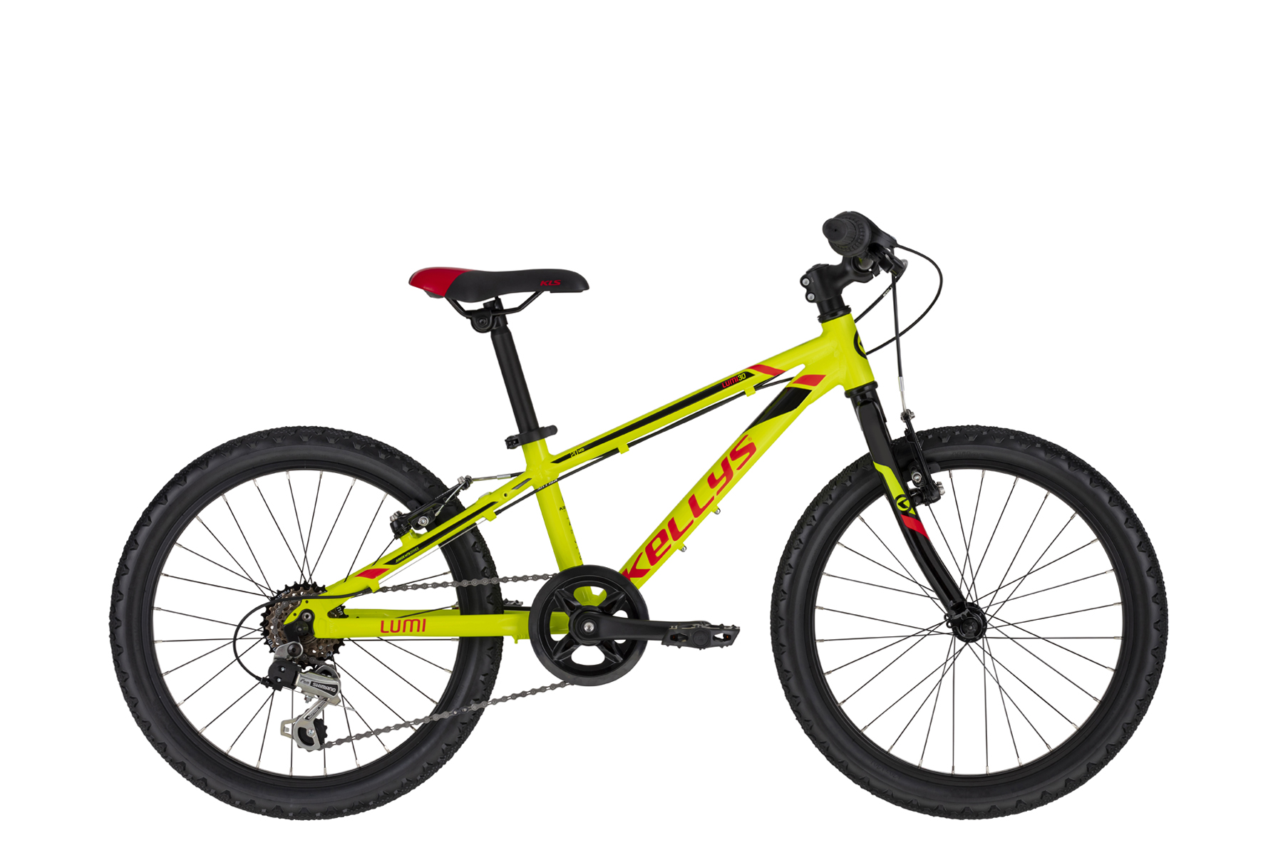 "bicykel Kellys LUMI 30 Neon Yellow (20"")  2020"