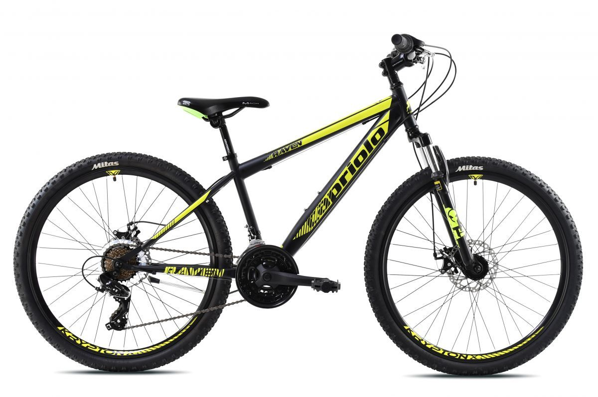 bicykel Capriolo RAVEN 26 XC black-yello  2021