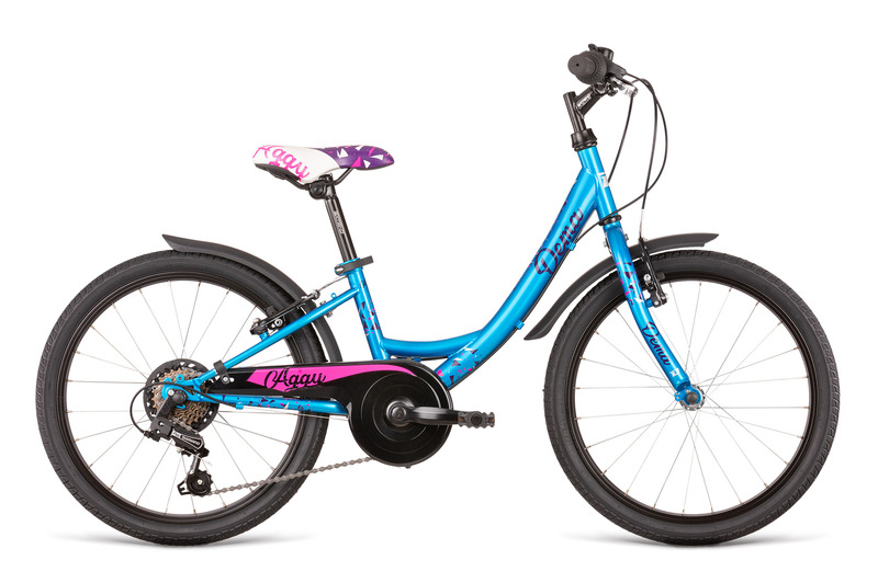 bicykel Dema AGGY 6sp turquoise-violet  2020