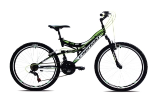 bicykel Capriolo CTX 260 black green  2018