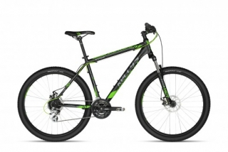 "bicykel Kellys VIPER 30 Black Green 26""  2018  17,5"""